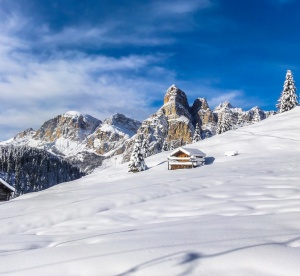 Lyžiarsky raj uprostred Dolomitov