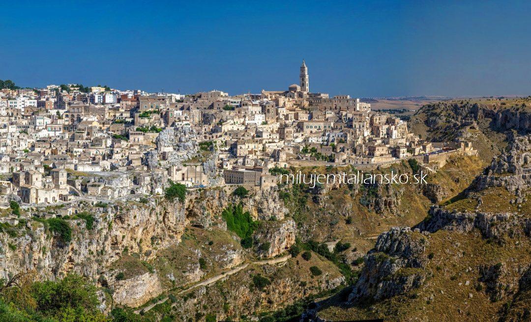 Matera, jaskynné mesto – od hanby až na výslnie