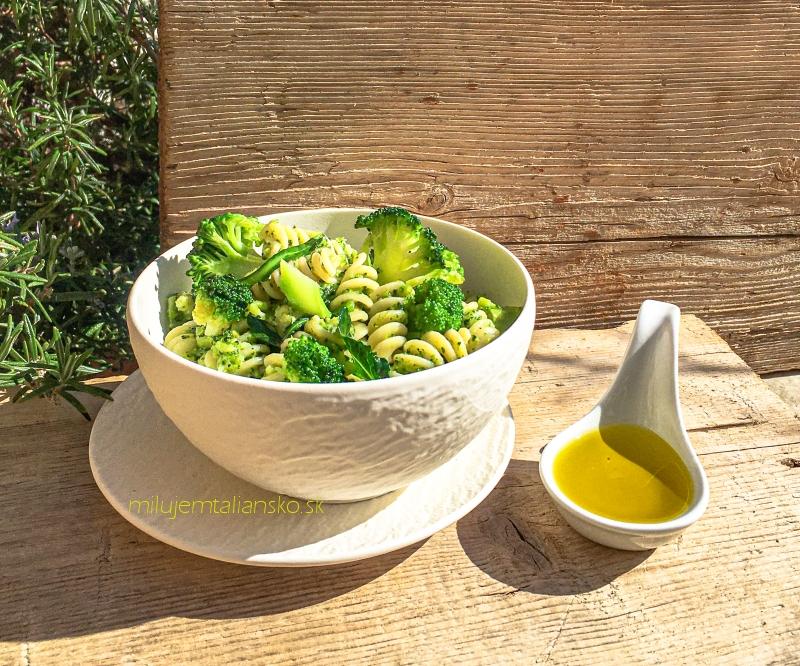 Bleskový recept – cestoviny s brokolicou